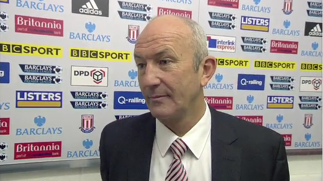 Stoke manager Tony Pulis