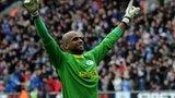 Wigan goalkeeper Ali al Habsi