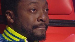 Will.i.am, on The Voice
