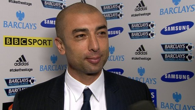 Chelsea interim boss Robert Di Matteo 
