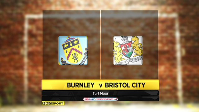 Burnley 1-1 Bristol City