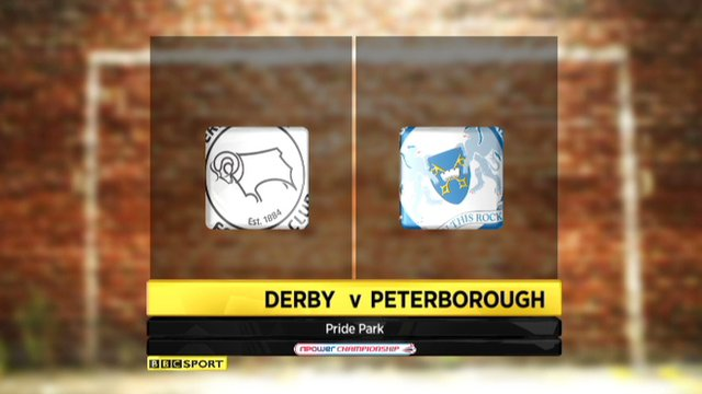 Derby 1-1 Peterborough