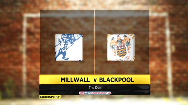 Millwall 2-2 Blackpool