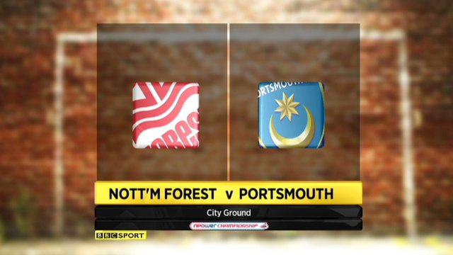 Nottm Forest 2-0 Portsmouth
