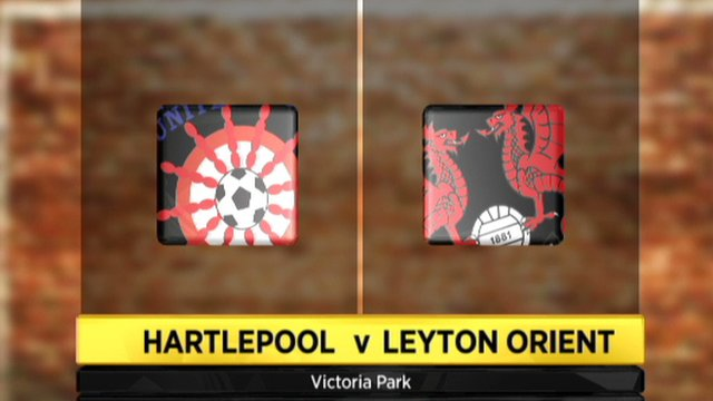 Hartlepool 2-1 Leyton Orient