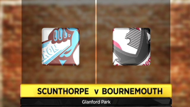 Scunthorpe 1-1 Bournemouth