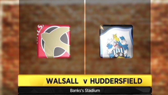 Walsall 1-1 Huddersfield