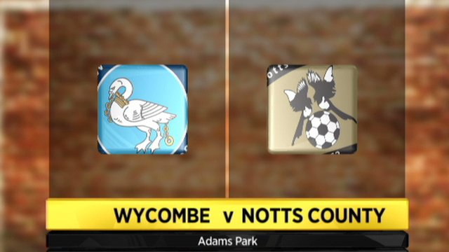 Wycombe 3-4 Notts County