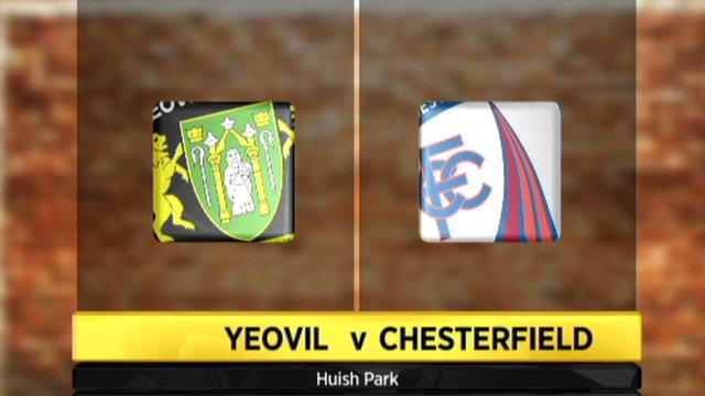 Yeovil 3-2 Chesterfield