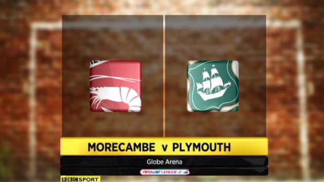 Morecambe 2-2 Plymouth