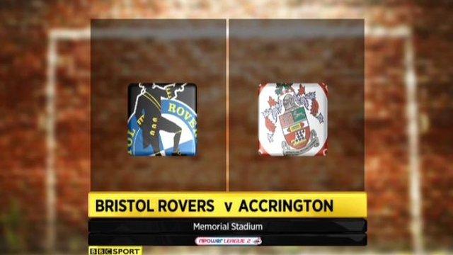 Bristol Rovers 5-1 Accrington