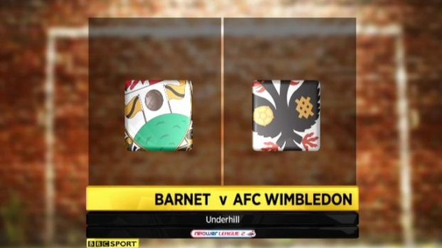 Barnet 4-0 Wimbledon