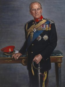 Portrait of Prince Philip