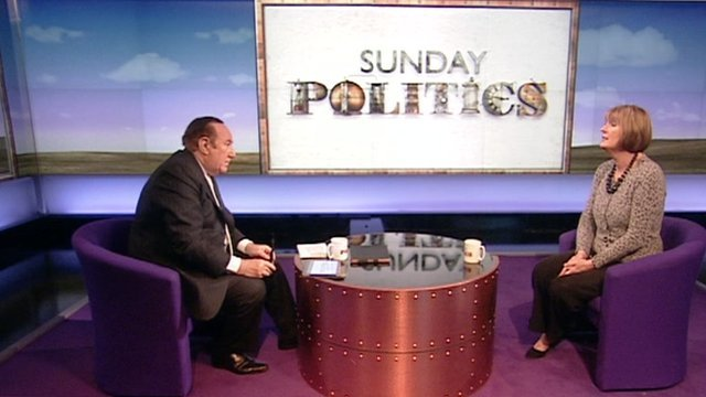 Andrew Neil and Harriet Harman