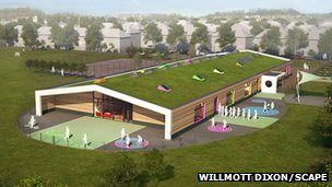The designs for Oakfield Primary in Rugby