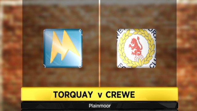 Torquay 1-1 Crewe