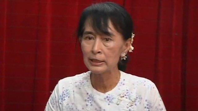 Burma's Aung San Suu Kyi To Take Parliamentary Oath