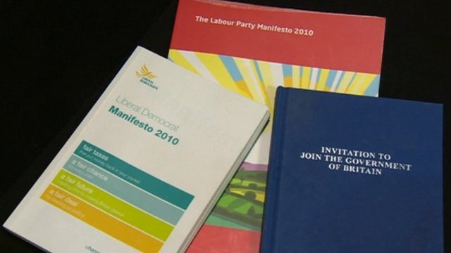Party manifestos