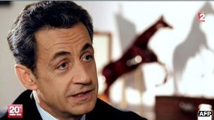French President Nicolas Sarkozy (29 April 2012)
