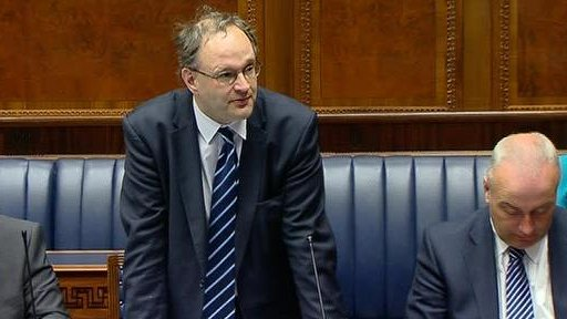 """The DUP's Peter Weir encouraged the assembly to issue """"a clarion call"""" to to the government in London to withdraw its plans to limit tax relief on large tax donations."""