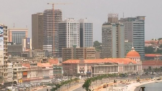 Angola beats most of Europe to 4G mobile phone services - BBC ...
