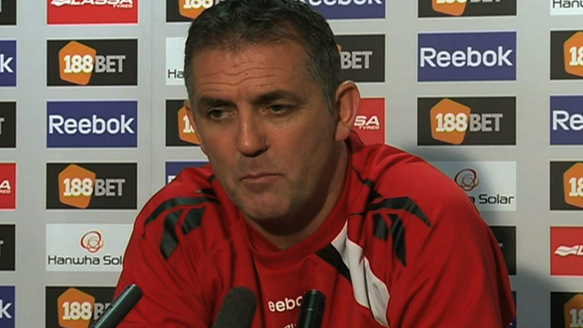 Bolton manager Owen Coyle