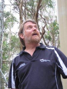 Professor David Ellsworth of University of Western Sydney