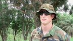 Capt Greg is a member of the US Navy Seal forces advising the four African countries' army hunting LRA leader Joseph