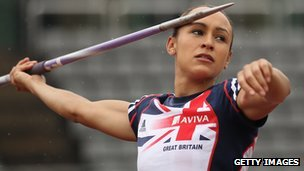 Jessica Ennis training at the Aviva GB&NI Team Preparation Camp in South Korea