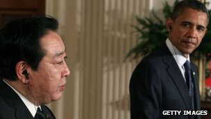 Japanese PM Yoshihiko Noda and US President Barack Obama in Washington. Photo: 30 April 2012