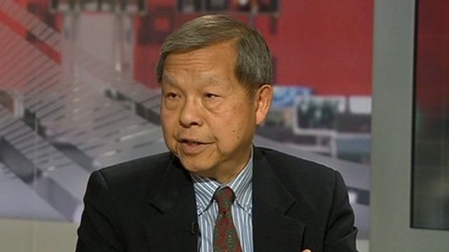 Yukon Huang on World News America 30 April 2012