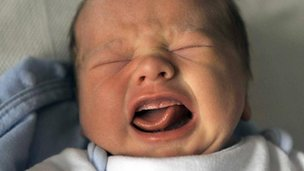 Crying baby (file image)