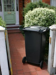 Wheelie bin