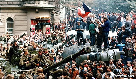 Prague Spring demonstrations