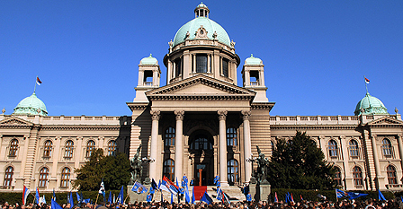 Parliament in Belgrade