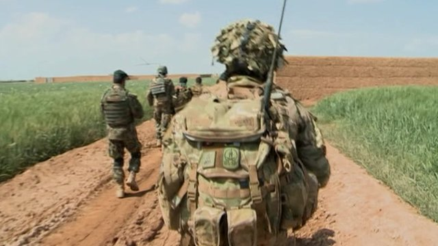 Troops in Helmand, Afghanistan