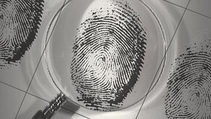 Magnifying fingerprint