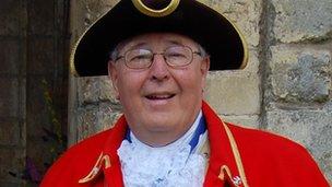 Mike Kean-Price, Tewkesbury's town crier