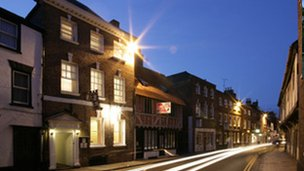 The Jessop Townhouse B&B in Tewkesbury