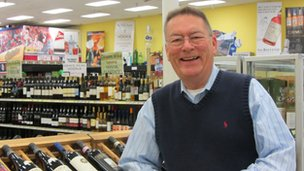 Chuck Ferrar of Bay Bridge Wine and Spirits