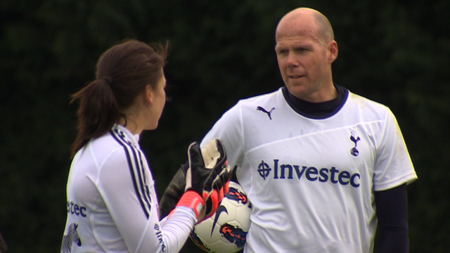 Beth Storry and Brad Friedel