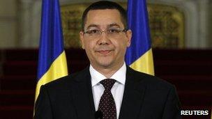 Victor Ponta. Photo: April 2012