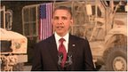 Barack Obama addresses the US public