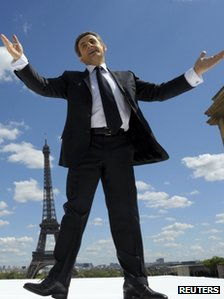 Nicolas Sarkozy at Trocadero (1 May 2012)