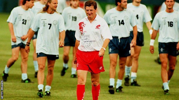 Roy Hodgson as Switzerland manager