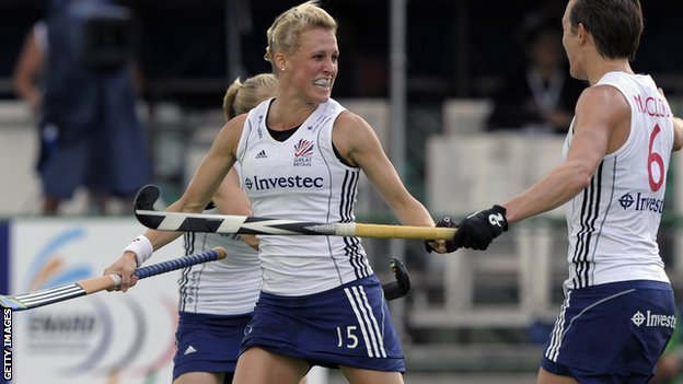 Alex Danson scored GB's winner