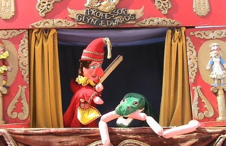 Glyn Edwards' Punch and Judy show (Photo credit: The Fedora Group) 