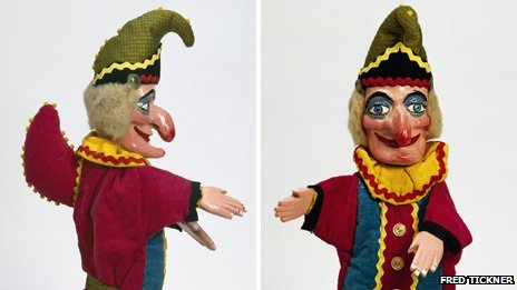 Mr Punch, Fred Tickner, 1975  V&amp;A Images Mr Punch from the Happy Birthday Mr Punch! exhibition at V&amp;A Museum of Childhood 14 July - 9 December