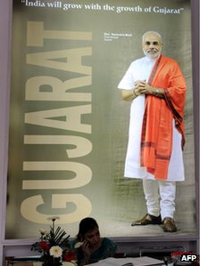 Poster of Mr Narendra Modi