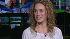2010 Winter Olympic Gold medallist Amy Williams